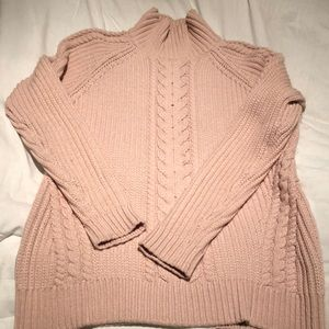 Lululemon thick cable knit sweater